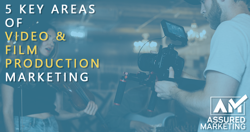 5 Key Areas of Marketing In Video & Film Production
