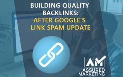 Changes In Backlink Generation Following Google's Link Spam Update