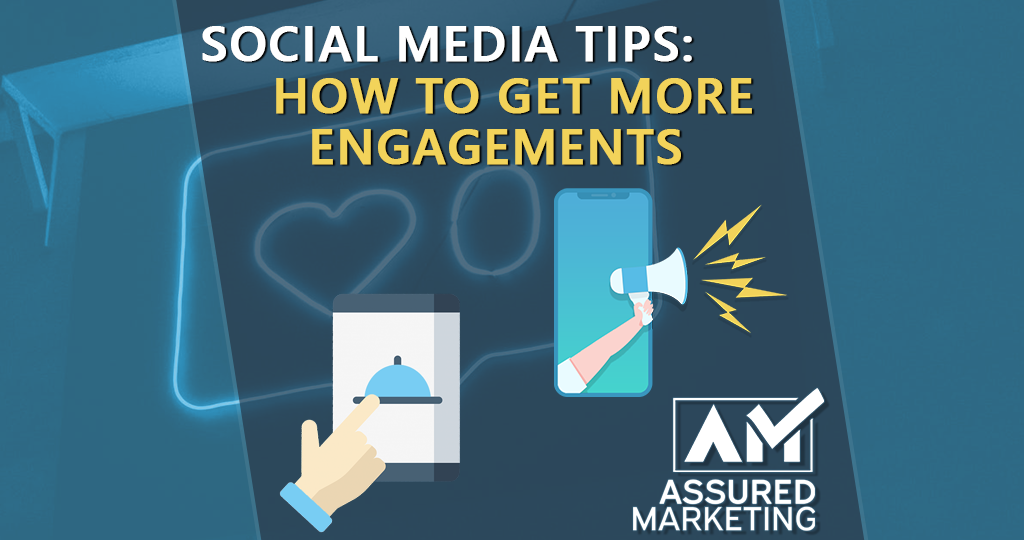 featured image for assured marketing blog on how to improve social media engagement rates