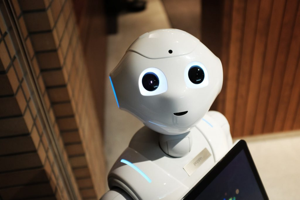 image of ai robot to demonstrate role of ai technology in automation